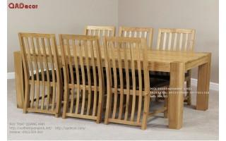 Bàn ghế ăn gỗ  BA02