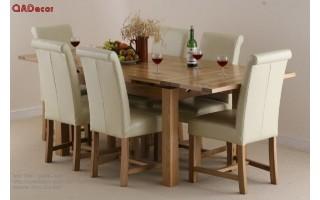 Bộ bàn ghế phòng ăn BA55
