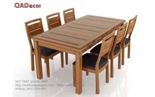 Bàn ăn gỗ tự nhiên  BA113