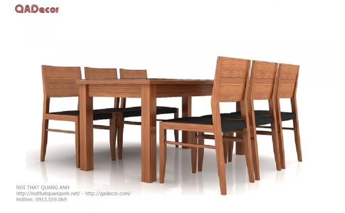 Bộ bàn ghế phòng ăn hiện đại BA116