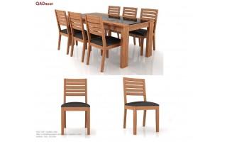 Bộ bàn ghế phòng ăn BA119