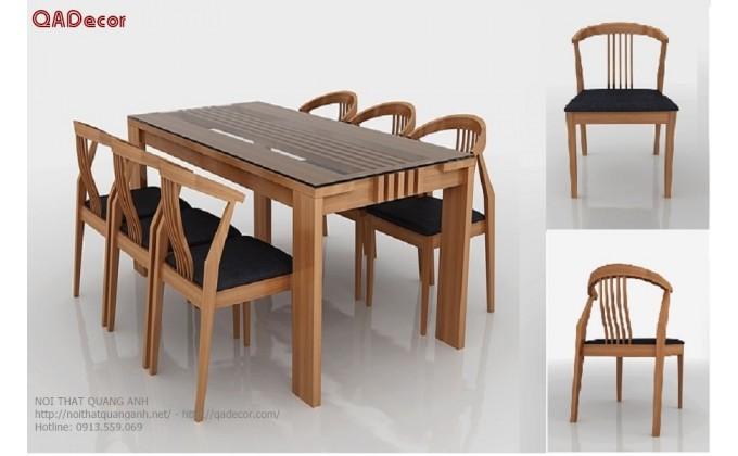 Bộ bàn ghế phòng ăn BA120