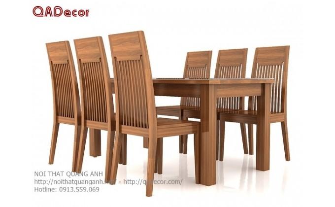 Bộ bàn ghế phòng ăn BA126