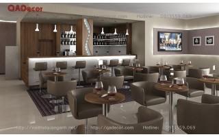 Thiết kế nội thất quán bar cafe