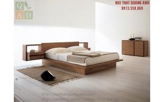 Giường ngủ gỗ óc chó GN11