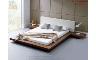 Giường ngủ gỗ KIỂU NHẬT GN138