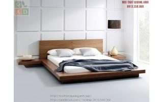 Giường ngủ gỗ tự nhiên hiện đại GN14
