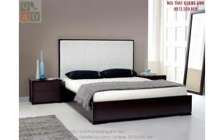 Giường ngủ bằng gỗ đẹp GN15