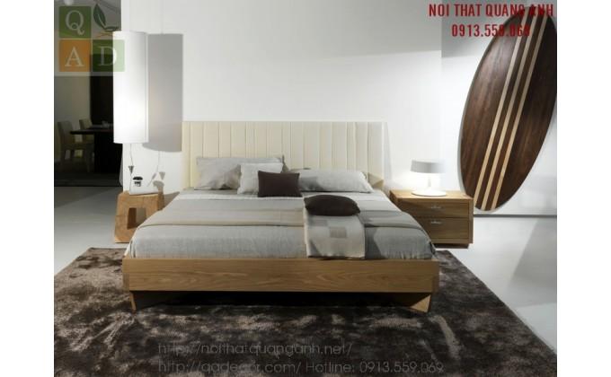 Giường ngủ đẹp gỗ Sồi Nga GN51