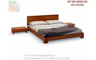 Giường ngủ gỗ Sồi Nga GN17