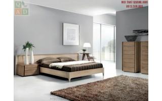 Giường ngủ gỗ hiện đại GN18