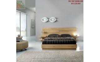 Giường ngủ hiện đại gỗ tự nhiên GN20
