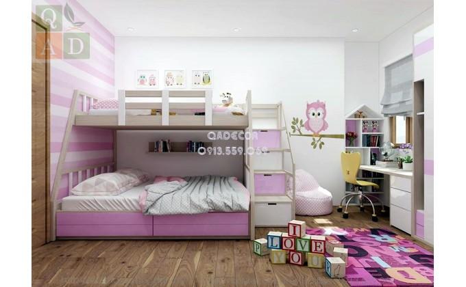 Phòng ngủ con gái đẹp GT04