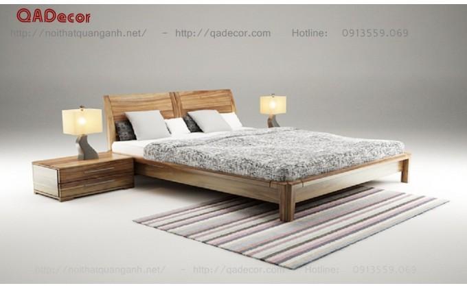 Giường ngủ đẹp gỗ tự nhiên GN25