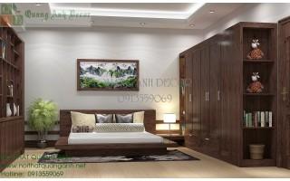 Thiết kế phòng ngủ chung cư PN205