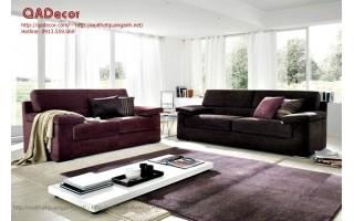 Mẫu sofa nỉ phòng khách SF14