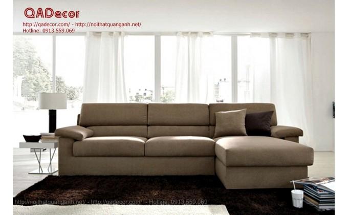 Mẫu sofa da phòng khách SF15