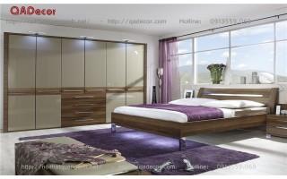 Phòng ngủ đẹp gỗ tự nhiên PN59