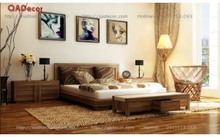 Giường tủ phòng ngủ đẹp PN89