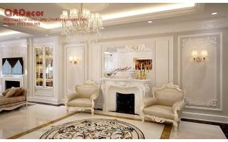 Thiết kế nội thất chung cư  tân cổ điển Royal City