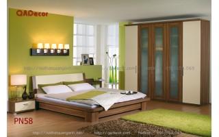 Mẫu nội thất phòng ngủ hiện đại PN58