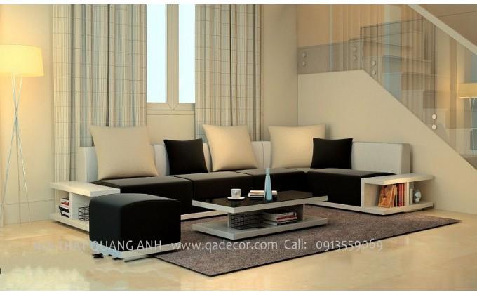 Bộ bàn ghế sofa gỗ phòng khách SFG21