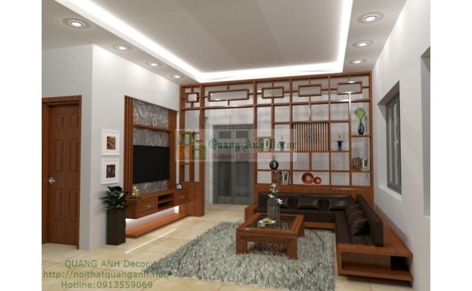 Bộ sofa góc hiện đại SFG721
