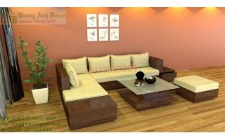 Bang ghế gỗ phòng khách SFG66