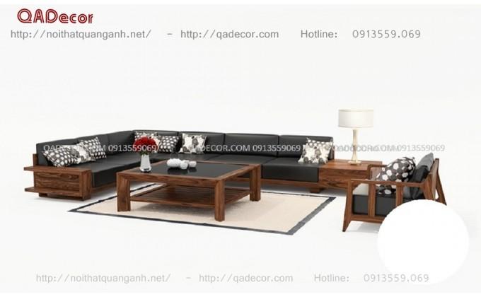 Bàn ghế gỗ phòng khách SFG02