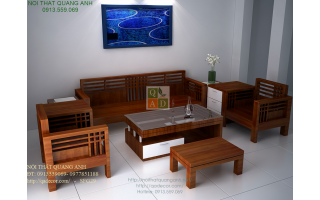 Bộ bàn ghế phòng khách đẹp SFG404