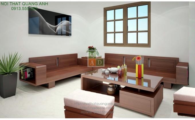 Bộ sofa gỗ phòng khách SFG421