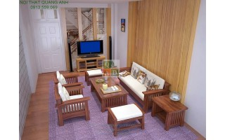 Bộ bàn ghế phòng khách đẹp SFG22