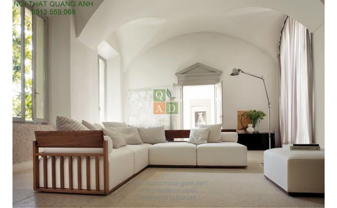 Sofa gỗ phòng khách SFG92