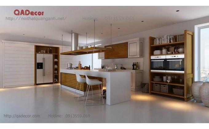 Tủ bếp gỗ TB1