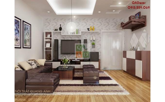Thiết kế nội thất chung cư  Văn Phú