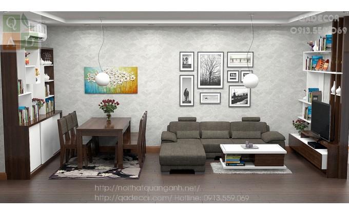 Thiết kế nội thất T11 Time City Minh Khai