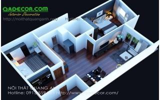 Thiết kế nội thất chung cư Văn Phú Victory Hà Đông