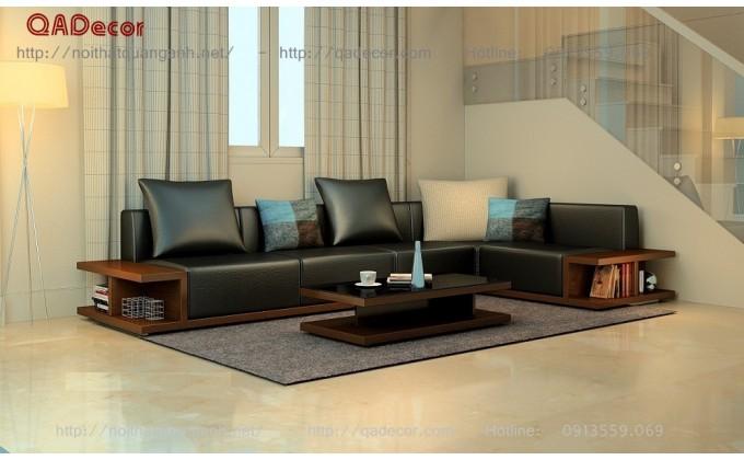 Bộ bàn ghế sofa góc SFG52