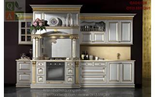 Tủ bếp tân cổ điển châu âu CUCI