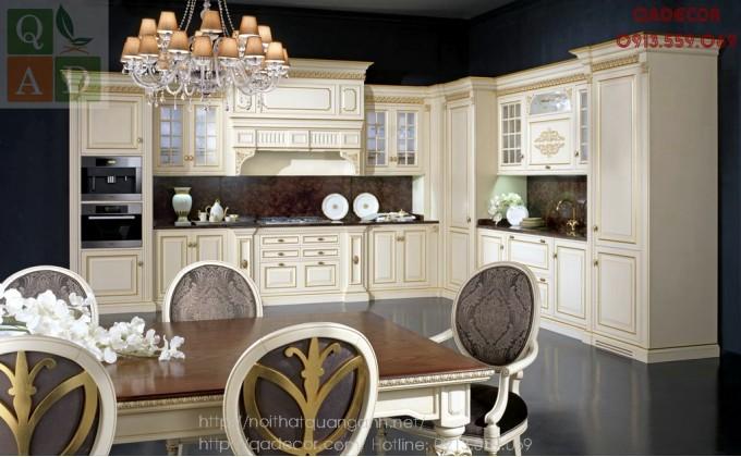 Tủ bếp tân cổ điển châu âu GIULIA