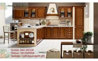 Tủ bếp gỗ Hương TBG109