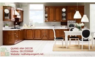 Tủ bếp gỗ Hương TBG110