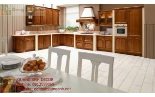 Tủ bếp gỗ Hương TBG108