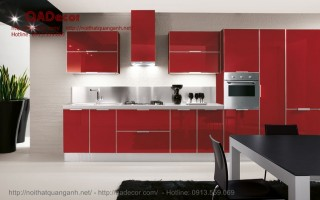 Tủ bếp Acrylic TBA11