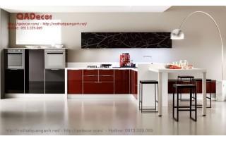 Tủ bếp Acrylic TBA301