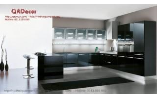 Tủ bếp gỗ Acrylic TBA501