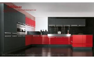 Mẫu tủ bếp laminate TBL103
