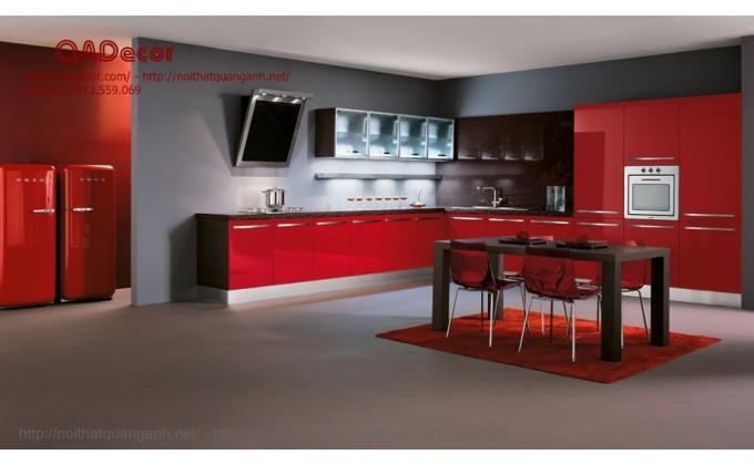 Tủ bếp gỗ Laminate TBL104
