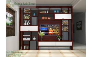 Vách ngăn phòng khách với bếp VN809