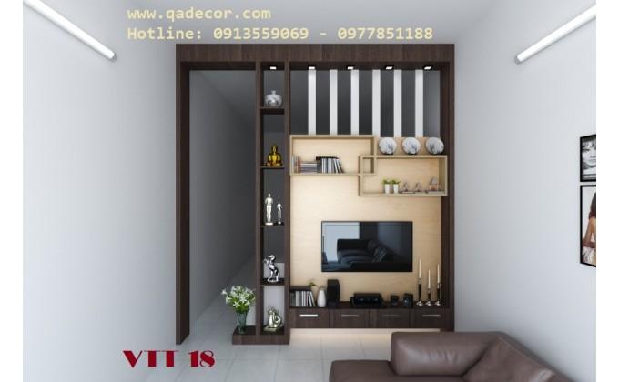 Vách trang trí phòng khách VTT18